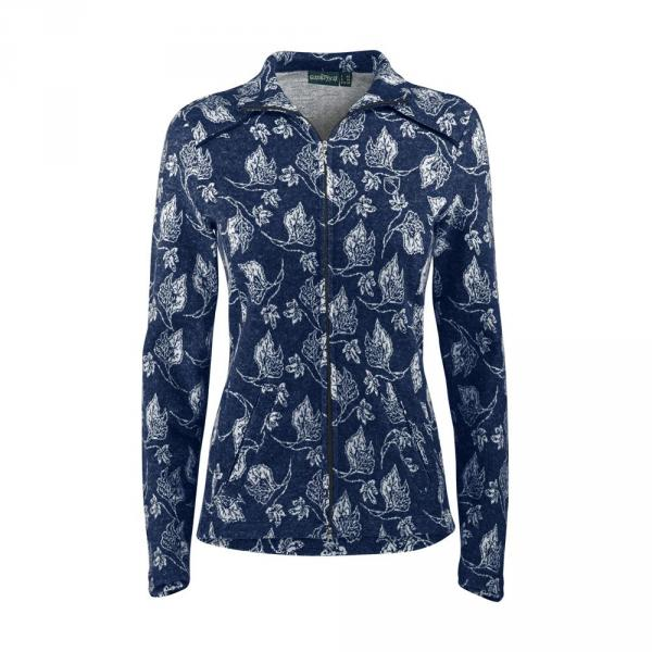 Sweatshirt Woman POARETA 57639 Blue Chervò