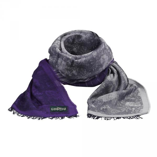 Scarf Woman YEBRU 57733 Purple Chervò
