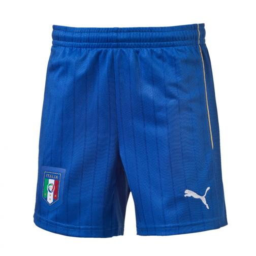 Puma Shorts De Course Away Italy   16/18 Team Power Blue-white
