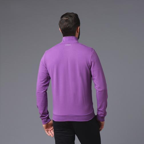 Le Coq Sportif Sweat  Fiorentina vintage purple Tifoshop