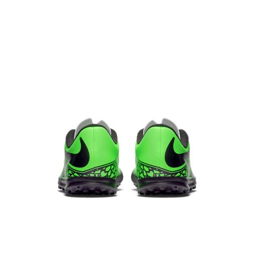 Nike Futsal-schuhe Jr. Hypervenom Phade Tf  Juniormode Green Black Tifoshop