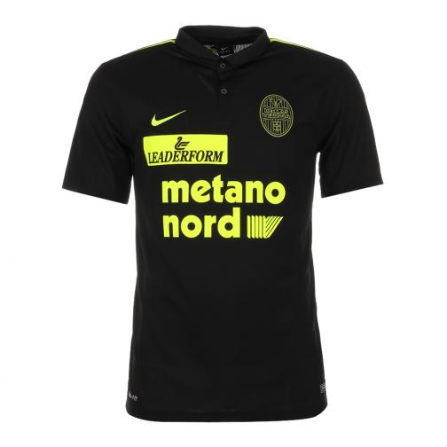 Nike Maillot De Match Away Verona   15/16 Black