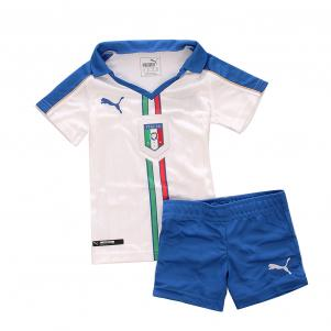 Figc Italia Kids Away Mini Kit