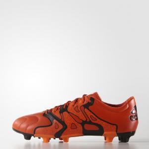 Adidas Chaussures De Football X 15.2 Fg/ag Leather