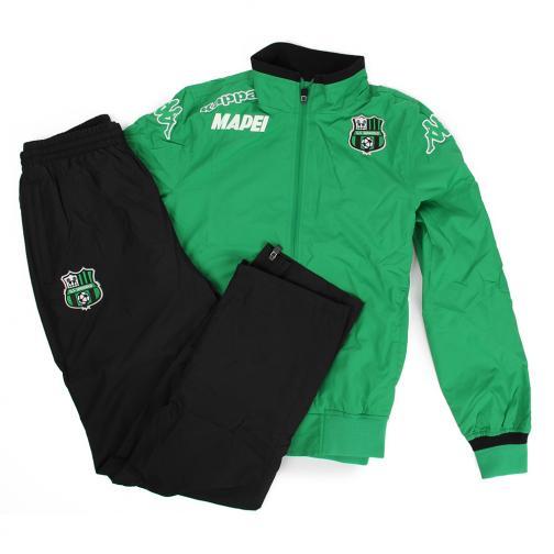 Kappa Trainingsanzug Präsentation Sassuolo   16/17 Green Black