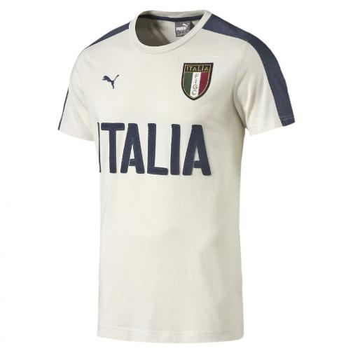 Tshirt Graphic Italia Junior Bianco FIGC Store