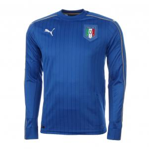 Figc Italia Home Ls Shirt Replica