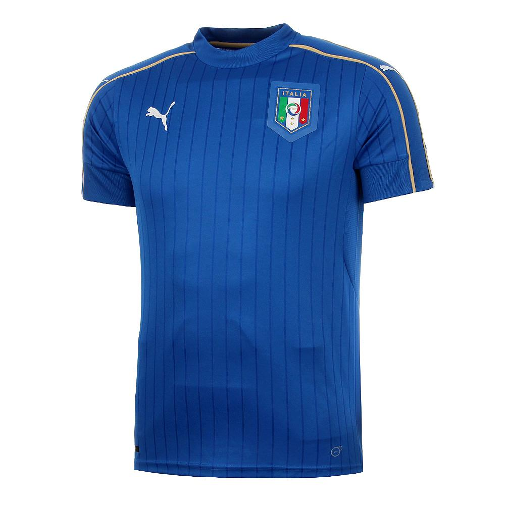 Figc Italia Kids Home Shirt Replica