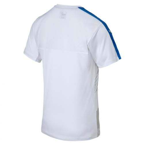 Puma Trainingstrikot Figc Training Jersey Italy Juniormode white-team power blue Tifoshop