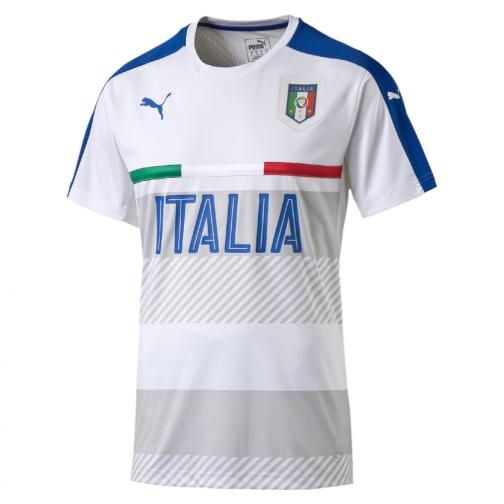Puma Trainingstrikot Figc Training Jersey Italy Juniormode white-team power blue
