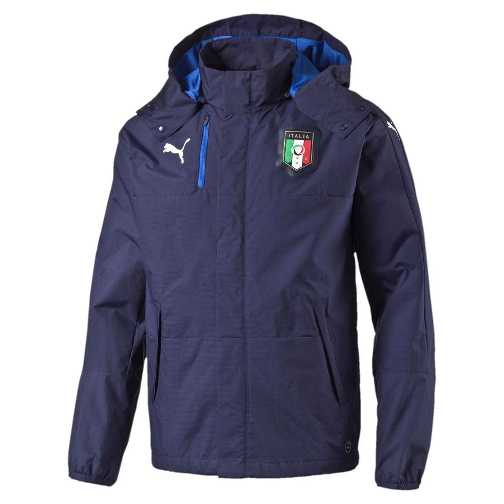 Puma Veste Figc Rain Jacket Italy