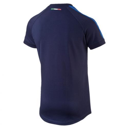Puma T-shirt Figc Casual T-shirt Italy Juniormode peacoat-team power blue Tifoshop