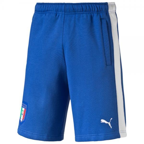 Figc Italia Fanwear Bermudas team power blue-white FIGC Store