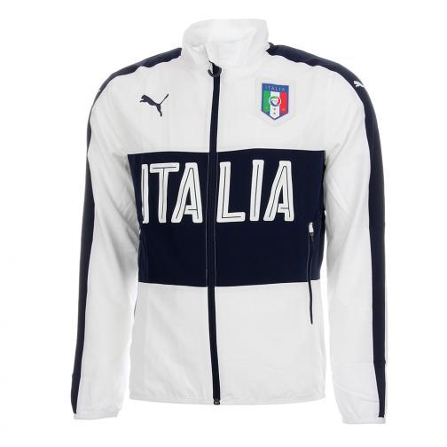 Felpa Italia Woven Bianco FIGC Store