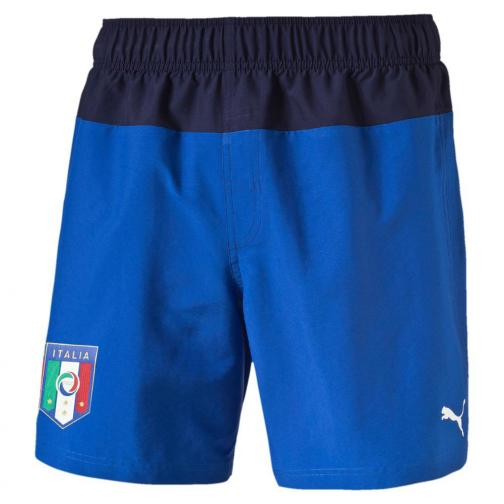 Figc Italia Beachwear Shorts team power blue-peacoat FIGC Store