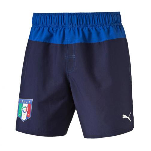 Puma Costume Figc Beachwear Shorts Italia Junior Blu