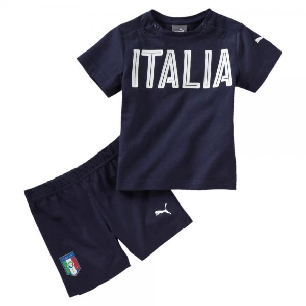 Puma Compléte Figc Set Italy Bèbè peacoat