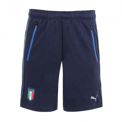 Figc Italia Smu Shorts peacoat-team power blue FIGC Store