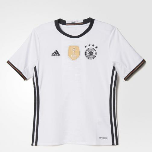 Adidas Maillot De Match Home Germany Enfant  16/18 White/Black
