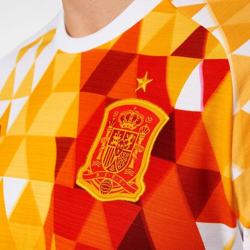 Adidas Maillot De Match Away Spain   16/18 WHITE/RED Tifoshop