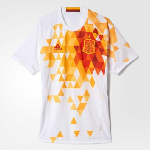 Adidas Maillot De Match Away Spain   16/18 WHITE/RED