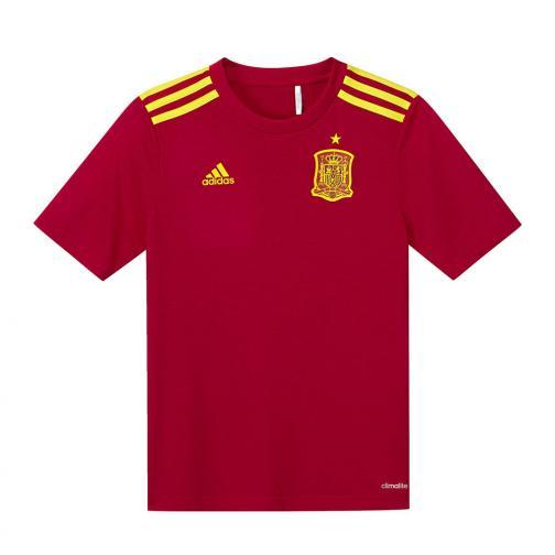 Adidas Maglia Stadium Home Spagna Junior  16/18 ROSSO