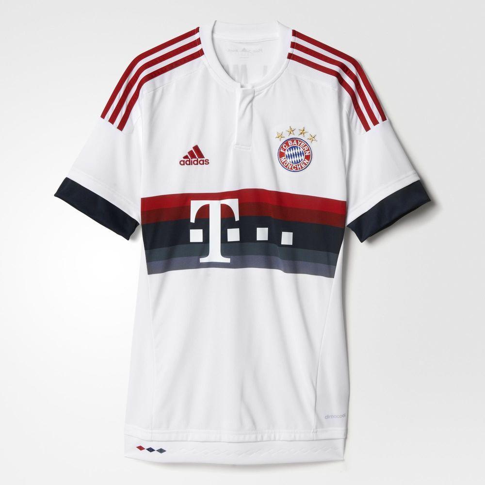 Adidas Maillot De Match Away Bayern Monaco   15/16