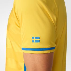 Adidas Maillot De Match Home Sweden   16/18
