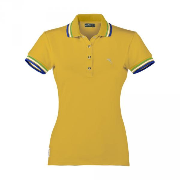 Poloshirt Damen ADORO 57660 Summer Yellow Chervò