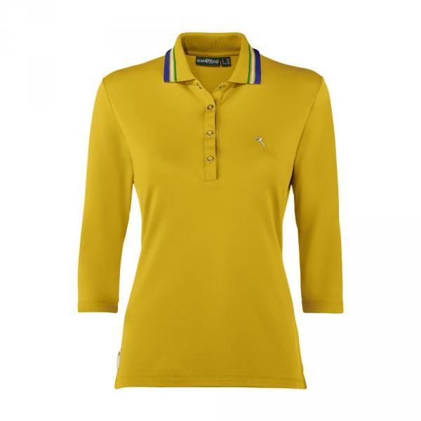 Poloshirt Damen AMARE 57659 Summer Yellow Chervò