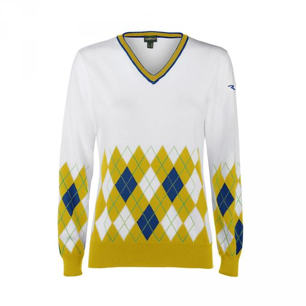 Chandail Femme NIXY 57689 White Yellow Chervò