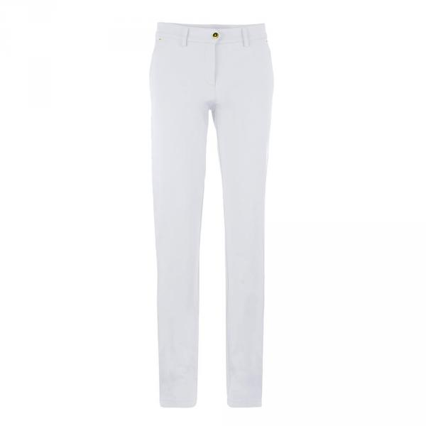 Pantalon Femme SUSETTA 57671 White Chervò