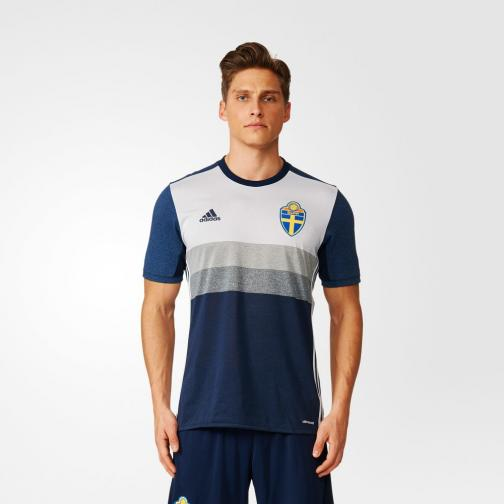 Adidas Maillot De Match Away Sweden   16/18 Collegiate Navy/Lgh Solid Grey Tifoshop