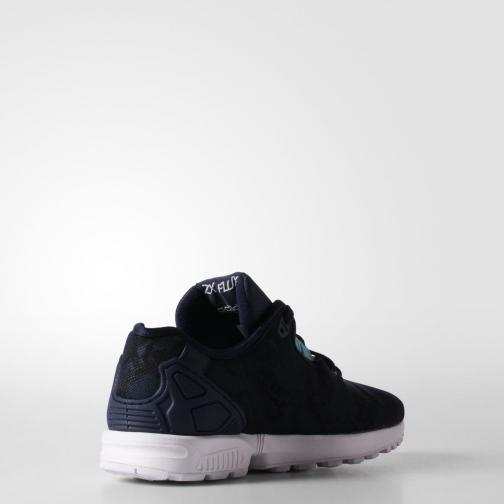 Adidas Originals Chaussures Zx Flux Decon  Femmes Night Indigo / Light Aqua Tifoshop
