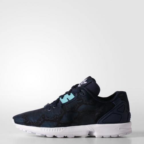 Adidas Originals Chaussures Zx Flux Decon  Femmes Night Indigo / Light Aqua