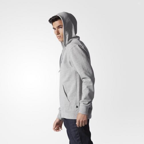 Adidas Originals Felpa Pe Hoody Grigio Tifoshop