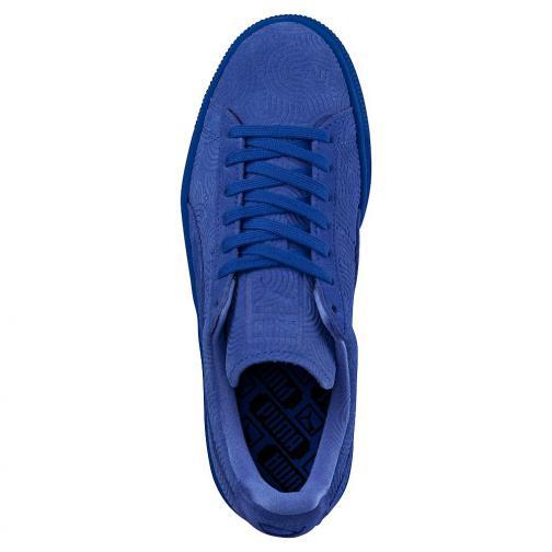 Puma Schuhe Suede Classic + Colored Wn's  Damenmode dazzling blue-dazzling blue Tifoshop