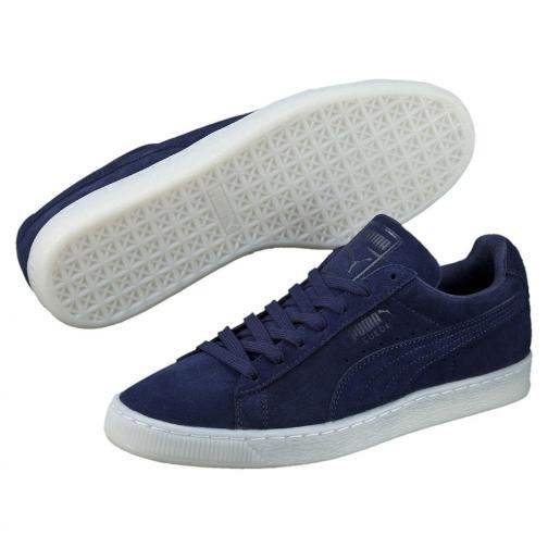 Puma Chaussures Suede Classic Colored peacoat-white Tifoshop