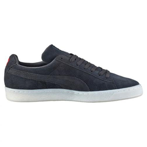 Puma Chaussures Suede Classic Colored dark shadow-high risk red Tifoshop