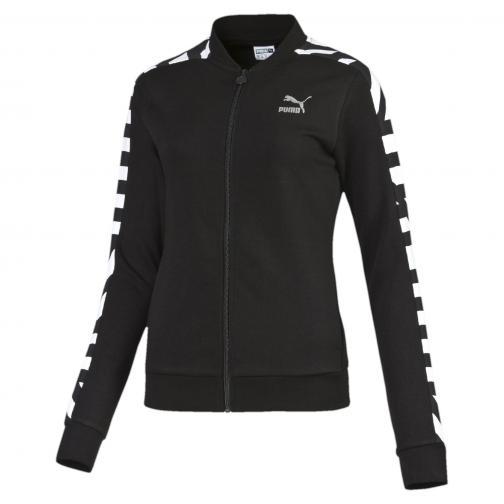 Puma Sweatshirt Aop Track Jacket B  Damenmode black