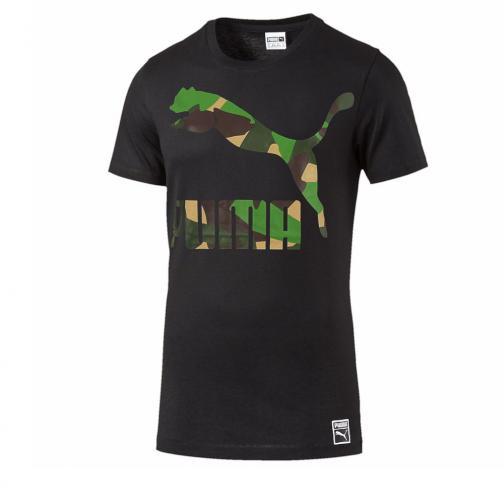 Puma T-shirt Camo Archive Tee black
