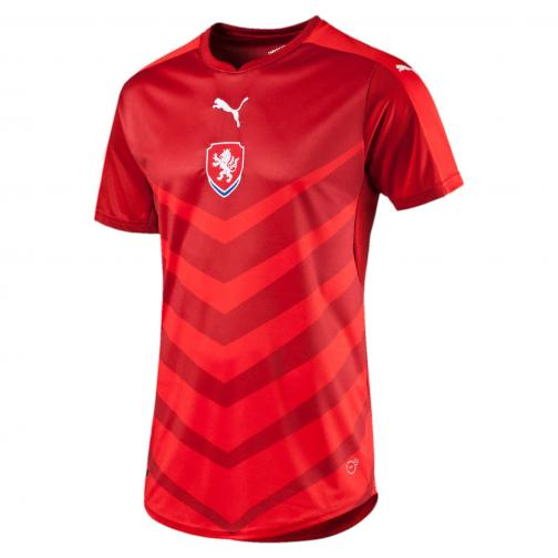Puma Maillot De Match  Czech Republic   16/18 chili pepper-puma red