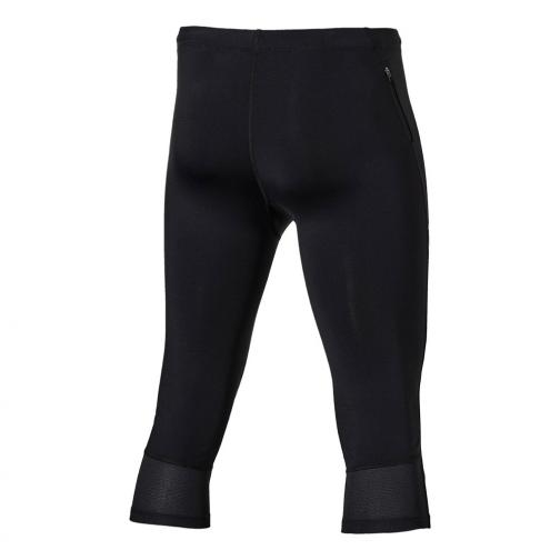 Asics Shorts Stripe Knee Tight PERFORMANCE BLACK/MEDITERAN Tifoshop