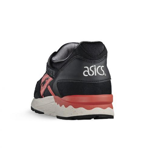 Asics Tiger Chaussures Gel-lyte V  Unisex Black/Chili Tifoshop