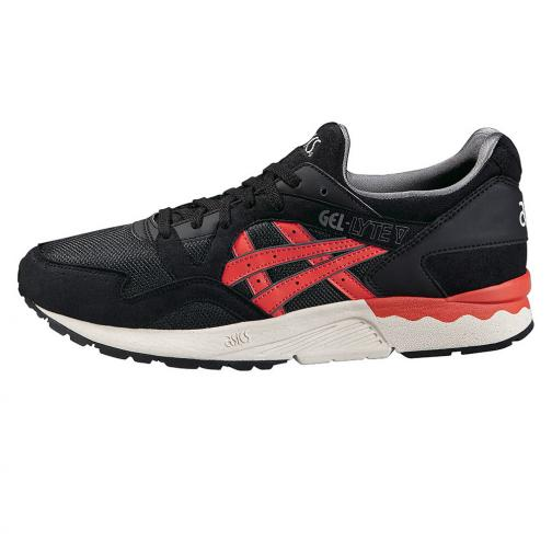 Asics Tiger Chaussures Gel-lyte V  Unisex Black/Chili