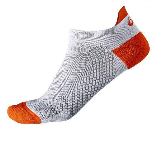 Asics Chaussettes Cooling St Sock  Unisex DARK GREY/CONE ORANGE
