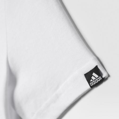 Adidas Originals T-shirt Stadium Graphic Tee  Junior Bianco Tifoshop