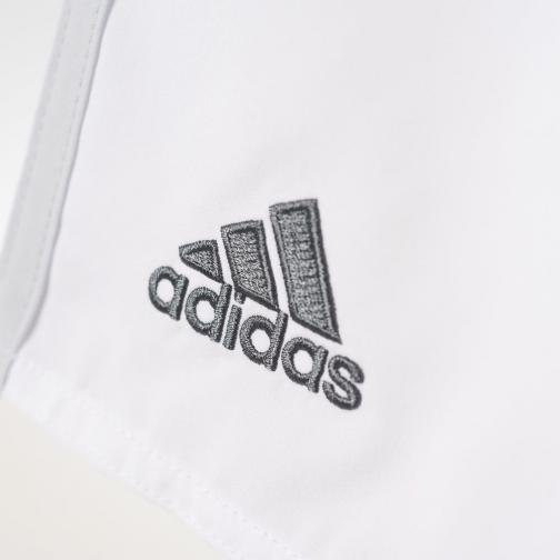 Adidas Shorts Home Real Madrid Juniormode  15/16 White / Clear Grey Tifoshop