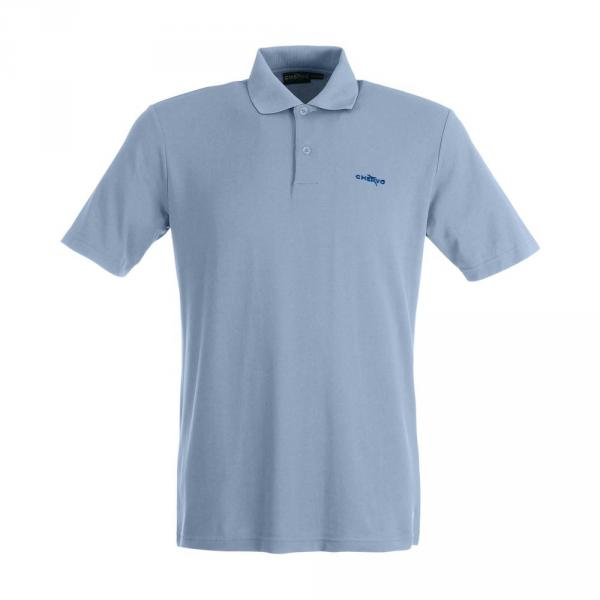 Polo Homme ACCOLTO 59317 MALIBU BLUE Chervò