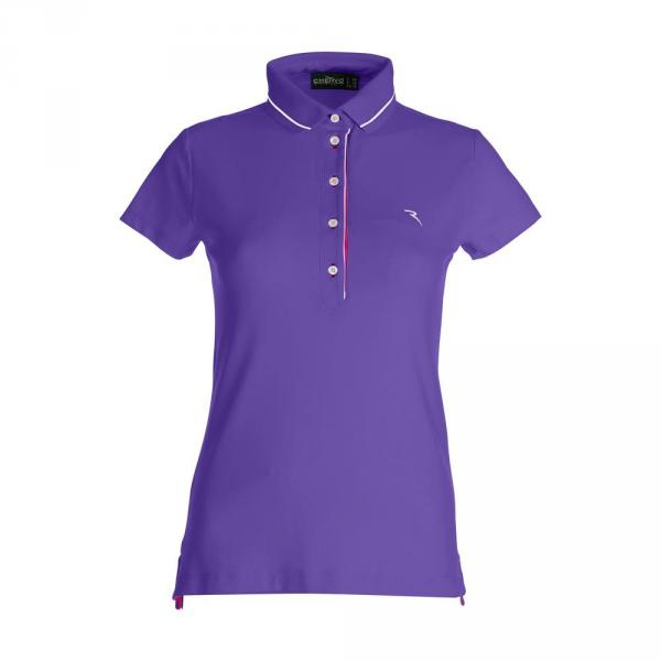 Poloshirt Damen ACI 59732 JAZZ PURPLE Chervò